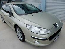 2006 Peugeot 407 SV Executive Gold 6 Speed Sports Automatic Sedan Braeside Kingston Area Preview