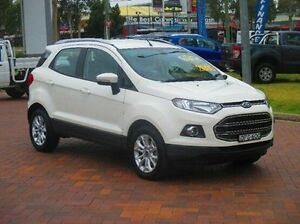 2016 Ford Ecosport BK Titanium PwrShift White 6 Speed Sports Automatic Dual Clutch Wagon Baulkham Hills The Hills District Preview