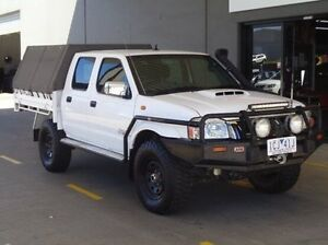 2011 Nissan Navara D22 MY08 ST-R (4x4) White 5 Speed Manual Dual Cab Pick-up Melton Melton Area Preview