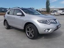 2010 Nissan Murano Z51 Series 2 MY10 TI Silver 6 Speed Constant Variable Wagon Mitchell Bathurst City Preview