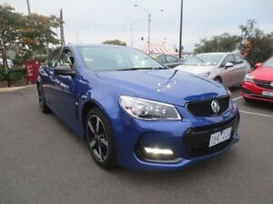 2016 Holden Commodore VF II MY16 SV6 Black Blue 6 Speed Sports Automatic Sedan Coolaroo Hume Area Preview