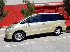 2001 Toyota Tarago ACR30R GLX Gold 4 Speed Automatic Wagon Cannington Canning Area Preview