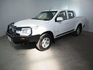 2014 Holden Colorado RG MY14 LX Crew Cab White 6 Speed Sports Automatic Utility Mount Gambier Grant Area Preview