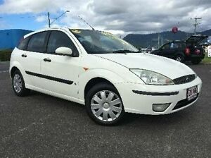 2004 Ford Focus LR MY2003 CL White 4 Speed Automatic Hatchback Bungalow Cairns City Preview