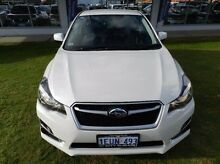 2015 Subaru Impreza  White Constant Variable Hatchback Victoria Park Victoria Park Area Preview