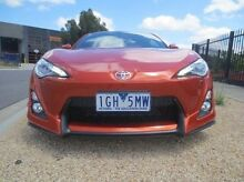 2013 Toyota 86 ZN6 GTS Orange 6 Speed Manual Coupe Coolaroo Hume Area Preview