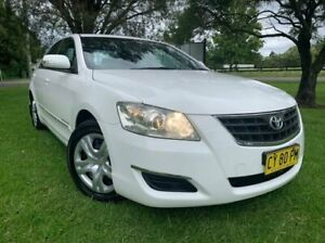 2007 Toyota Aurion GSV40R AT-X White 6 Speed Auto Sequential Sedan Tuggerah Wyong Area Preview