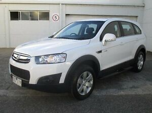 2012 Holden Captiva CG Series II 7 SX White 6 Speed Sports Automatic Wagon Bundoora Banyule Area Preview