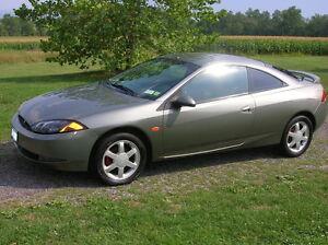 2002 Mercury Cougar V6 2.5L Motor