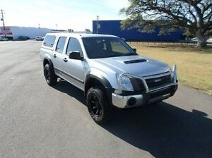 2012 Isuzu D-MAX MY11 SX Silver 5 Speed Manual Utility Hyde Park Townsville City Preview