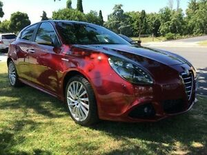 2013 Alfa Romeo Giulietta Distinctive TCT JTD-M Red 6 Speed Sports Automatic Dual Clutch Hatchback Wodonga Wodonga Area Preview