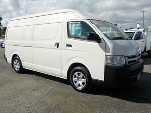 2011 Toyota Hiace White Manual Van Pakenham Cardinia Area Preview