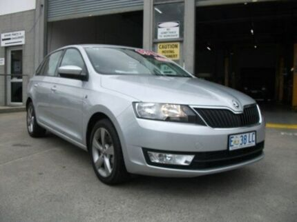 2014 Skoda Rapid NH MY14 Ambition Spaceback Silver 6 Speed Manual Hatchback Invermay Launceston Area Preview