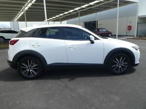 2015 Mazda CX-3 DK2W76 sTouring SKYACTIV-MT White 6 Speed Manual Wagon Green Fields Salisbury Area Preview