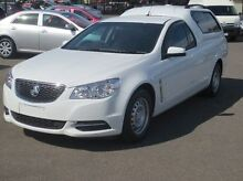2014 Holden Ute VF MY14 Ute White 6 Speed Sports Automatic Utility Coolaroo Hume Area Preview