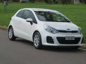 2014 Kia Rio UB MY15 S White 4 Speed Sports Automatic Hatchback Christies Beach Morphett Vale Area Preview