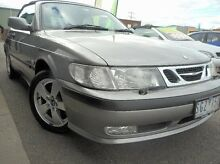 2002 Saab 9-3  Grey Automatic Convertible Thomastown Whittlesea Area Preview