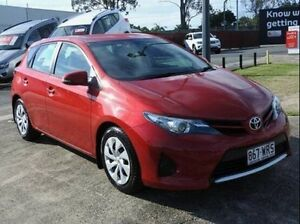 2014 Toyota Corolla Red Constant Variable Hatchback Morningside Brisbane South East Preview