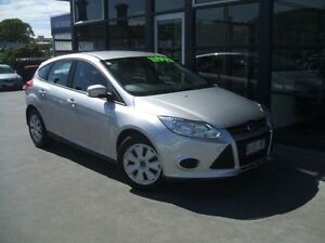 2013 Ford Focus LW MKII Ambiente Silver 5 Speed Manual Hatchback Launceston Launceston Area Preview