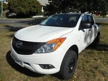 2013 Mazda BT-50 UP0YF1 XT White 6 Speed Sports Automatic Utility Derwent Park Glenorchy Area Preview