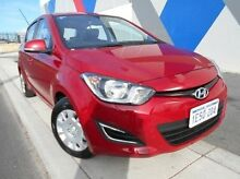 2015 Hyundai i20 PB MY15 Active Red 6 Speed Manual Hatchback Bunbury Bunbury Area Preview