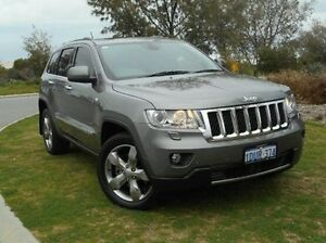 2011 Jeep Grand Cherokee WK MY2011 Overland Grey 5 Speed Sports Automatic Wagon East Rockingham Rockingham Area Preview