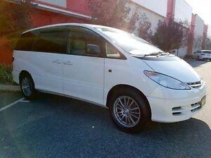 2000 Toyota Estima White Automatic Wagon
