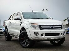 2014 Ford Ranger PX XLT Double Cab White 6 Speed Sports Automatic Utility Parramatta Parramatta Area Preview