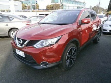 2014 Nissan Qashqai J11 TI Red 1 Speed Constant Variable Wagon