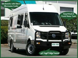 2014 Volkswagen Crafter 2EX2 MY15 50 High Roof LWB TDI400 White 6 Speed Manual Van Acacia Ridge Brisbane South West Preview