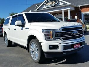 2018 Ford F-150 Limited  4x4 #1125, NAV, Pano Roof, Heated/Coole