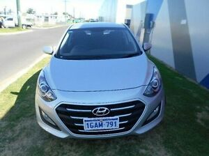 2016 Hyundai i30 GD4 Series II MY17 Active DCT Silver 7 Speed Sports Automatic Dual Clutch Hatchback Bunbury Bunbury Area Preview