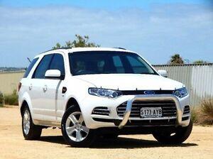 2013 Ford Territory SZ TX Seq Sport Shift White 6 Speed Sports Automatic Wagon Christies Beach Morphett Vale Area Preview