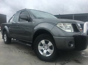 2009 Nissan Navara D40 ST-X King Cab Grey 6 Speed Manual Utility Invermay Launceston Area Preview