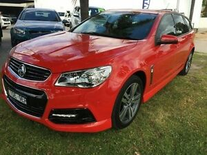 2015 Holden Commodore VF MY15 SV6 Sportwagon Red 6 Speed Sports Automatic Wagon Wodonga Wodonga Area Preview