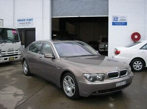 2003 BMW 760Li E66 Champagne 6 Speed Auto Sports Mode Sedan Woodbine Campbelltown Area Preview