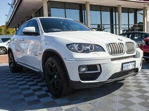 2012 BMW X6 E71 LCI xDrive40d Coupe Steptronic White 8 Speed Sports Automatic Wagon Alfred Cove Melville Area Preview
