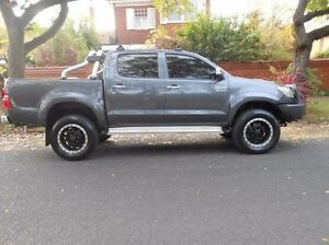 2012 Toyota Hilux KUN26R MY12 SR5 Double Cab Grey 5 Speed Manual Utility Prospect Prospect Area Preview