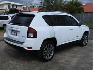 2014 Jeep Compass MK MY15 Limited CVT Auto Stick White 6 Speed Constant Variable Wagon Wynnum Brisbane South East Preview