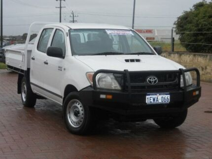 2009 Toyota Hilux KUN16R MY09 SR White 5 Speed Manual Utility Spearwood Cockburn Area Preview