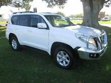 2014 Toyota Landcruiser Prado KDJ150R MY14 GXL White 5 Speed Sports Automatic Wagon East Kempsey Kempsey Area Preview