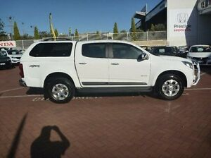 2014 Holden Colorado RG MY15 LTZ Crew Cab White 6 Speed Sports Automatic Utility Myaree Melville Area Preview