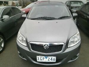 2009 Holden Barina TK MY09 Grey 5 Speed Manual Hatchback Blackburn Whitehorse Area Preview