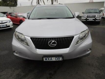 2009 Lexus RX350 GGL15R Prestige Silver 6 Speed Auto Seq Sportshift Wagon Oakleigh Monash Area Preview
