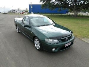 2006 Ford Falcon BF Mk II XR6 Ute Super Cab Green 4 Speed Sports Automatic Utility Hyde Park Townsville City Preview