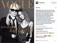 VOGUE PARIS December 2016 January Lily Rose Depp Karl Lagerfeld Hedi Slimane NEW