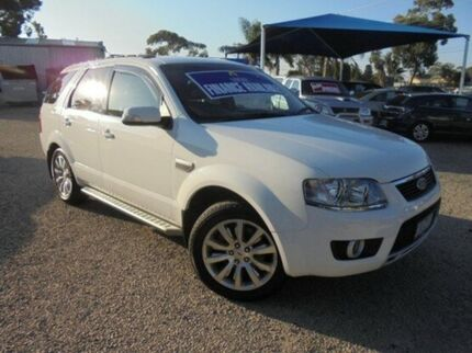 2010 Ford Territory White Sports Automatic Wagon Hastings Mornington Peninsula Preview