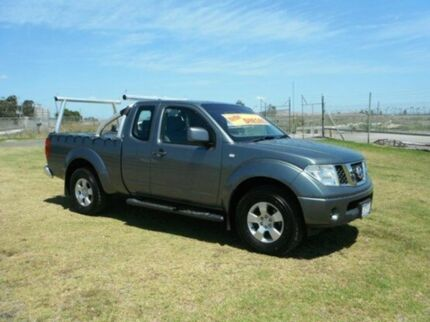 2010 Nissan Navara D40 ST-X King Cab Slate Grey 5 Speed Automatic Utility Pakenham Cardinia Area Preview
