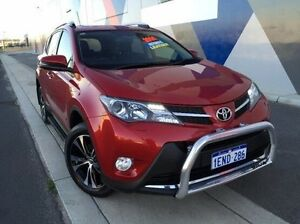 2014 Toyota RAV4 ASA44R MY14 Cruiser AWD Red 6 Speed Sports Automatic Wagon Bunbury Bunbury Area Preview