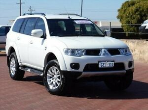 2012 Mitsubishi Challenger PB (KH) MY12 LS White 5 Speed Sports Automatic Wagon Spearwood Cockburn Area Preview